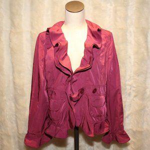 ROMY Jocelyn Jacket Purple XL NWT